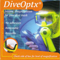 DiveOptix Lens Dive Scuba Mask Magnifier Gauge Readers Kit (pair)