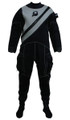 Pinnacle Black Ice Scuba Diving Unisex Merino Drysuit