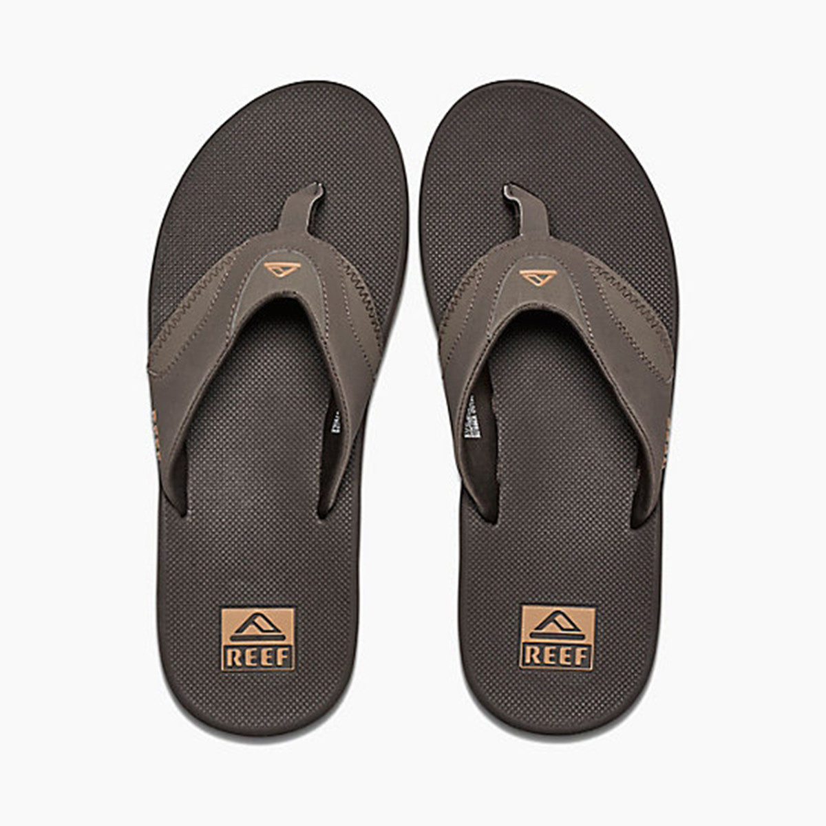 9bb64ab9326b Reef Sandals Fanning Flip Flops Men s Brown Gum RF002026 BGM. Price    54.95. Image 1