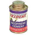 Trident Neoprene Contact Cement - 4oz Can w/ Brush Neoprene Wetsuit Repair LP31