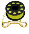Finger Reel Brass Clip Spool Scuba Water Diving