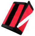 Wallet Dive Flag Scuba Diving Diver Billfold Trifold RD GP4901