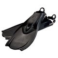 Hollis F-1 Bat Fin OH Scuba Diving Tech Fins w/Spring Strap