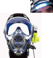 Ocean Reef Neptune Space G.divers Full GSM Radio Visor Light Diving Mask ML CB