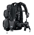Oceanic JetPack Complete Travel Convertible BCD Dry Backpack