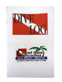 Dive Log Book Diving Flag 60 Pages Record Book w/Coral Sea Scuba Logo