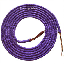 Mecate Reins natural horsemanship yacht braid double braid polyester Samson EQ Braid  rope