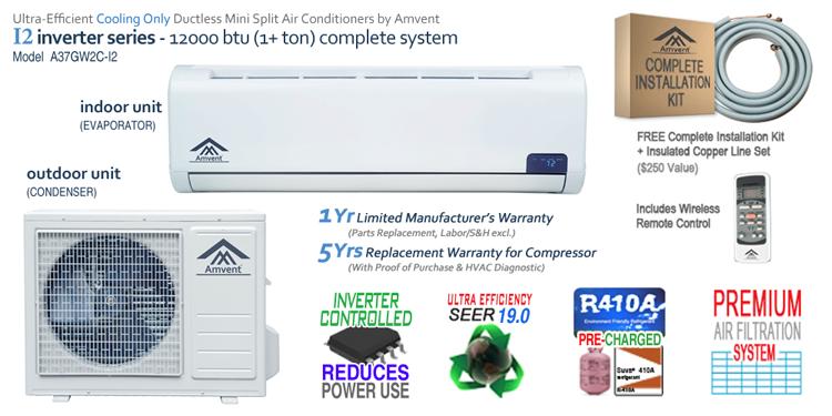 12000 BTU i2 Features Image