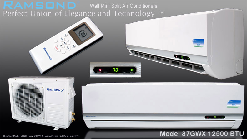 Ramsond 37GWX Ductless Mini Split AC