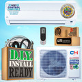Cooper & Hunter CH09ACE230V-IO25FTLS 9000 BTU SEER 16 Ductless Mini Split Air Conditioner + Heat Pump (208~230V)