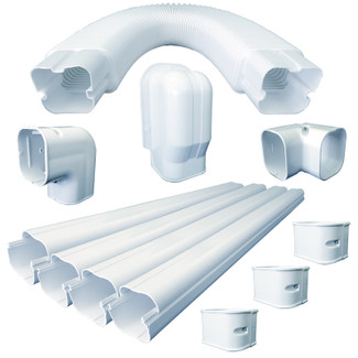 15FT Universal Line Set Cover Kit for Ductless Mini-Split
