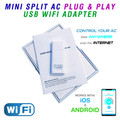 USB Plug & Play Wifi Adapter for Cooper & Hunter Mini Split Air Conditioners