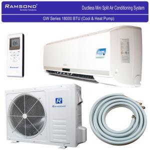 Ramsond 55GW3 18000 BTU 17.6 Seer Ductless Mini Split AC + Heat Pump