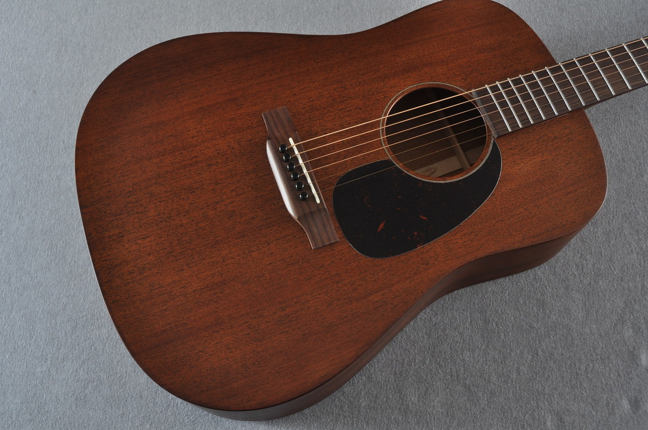 martin d 15m solid mahogany dreadnought acoustic guitar 2081235. Black Bedroom Furniture Sets. Home Design Ideas