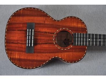 Kamaka Long Neck Tenor Deluxe Ukulele HF-3LD - 141315 - Top View