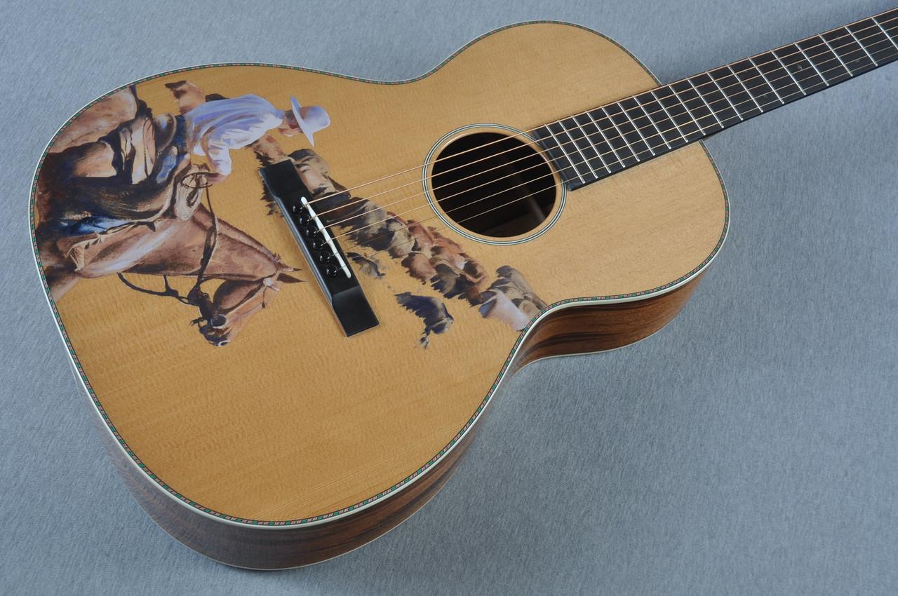 martin custom shop cowboy acoustic guitar 1910368. Black Bedroom Furniture Sets. Home Design Ideas