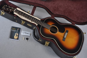 Martin Custom Shop 00-28 Slope Adirondack Madagascar Sunburst Acoustic #1896473 - Case