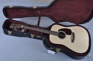 Used Martin Custom Shop D-18 Swiss Spruce Sinker Mahogany Acoustic Guitar #1761149 - Case