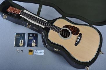 2015 Martin D-28 Authentic 1937 VTS Adirondack Acoustic Guitar #1956042 - Case