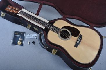Martin Custom Shop D-42 VTS Adirondack Guatemalan Acoustic Guitar #1952117 - Case