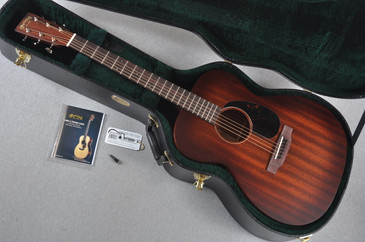 Martin 000-15M Burst Solid Mahogany Acoustic Guitar #1933203 - Case