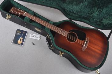 Martin D-15M Burst Solid Mahogany Acoustic Guitar #1915036 - Case