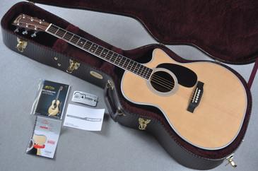 Martin GPC-35E Fishman Aura VT Enhance Acoustic Electric #1959123 - Case