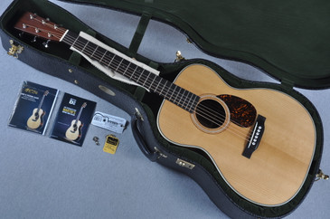 2015 Martin OM-28 Authentic 1931 VTS Adirondack Acoustic Guitar #1877674 - Case