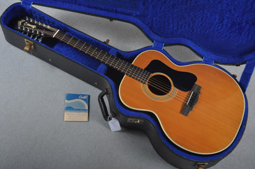 1979 Guild F212XL-NT 12 String w/ Pickup OHSC #202011 - Case