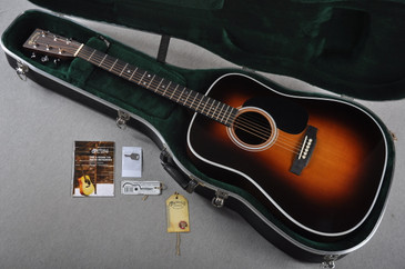 Used Martin D-28 Standard 1935 Sunburst Dreadnought Acoustic Guitar #1794161 - Case