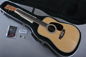 2016 Martin Custom Shop D-42 VTS Sitka Honduran Rosewood #1896464 - Case