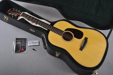 2016 Martin Custom Shop D-18 12 Fret Adirondack Acoustic Guitar #1990767 - Case