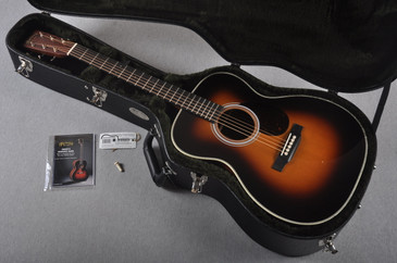 2016 Martin Custom Shop OM-28 Guatemalan Sunburst Acoustic Guitar #2023324 - Case