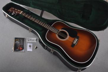2016 Martin D-28 Standard Ambertone Dreadnought Acoustic Guitar #1956105 - Case