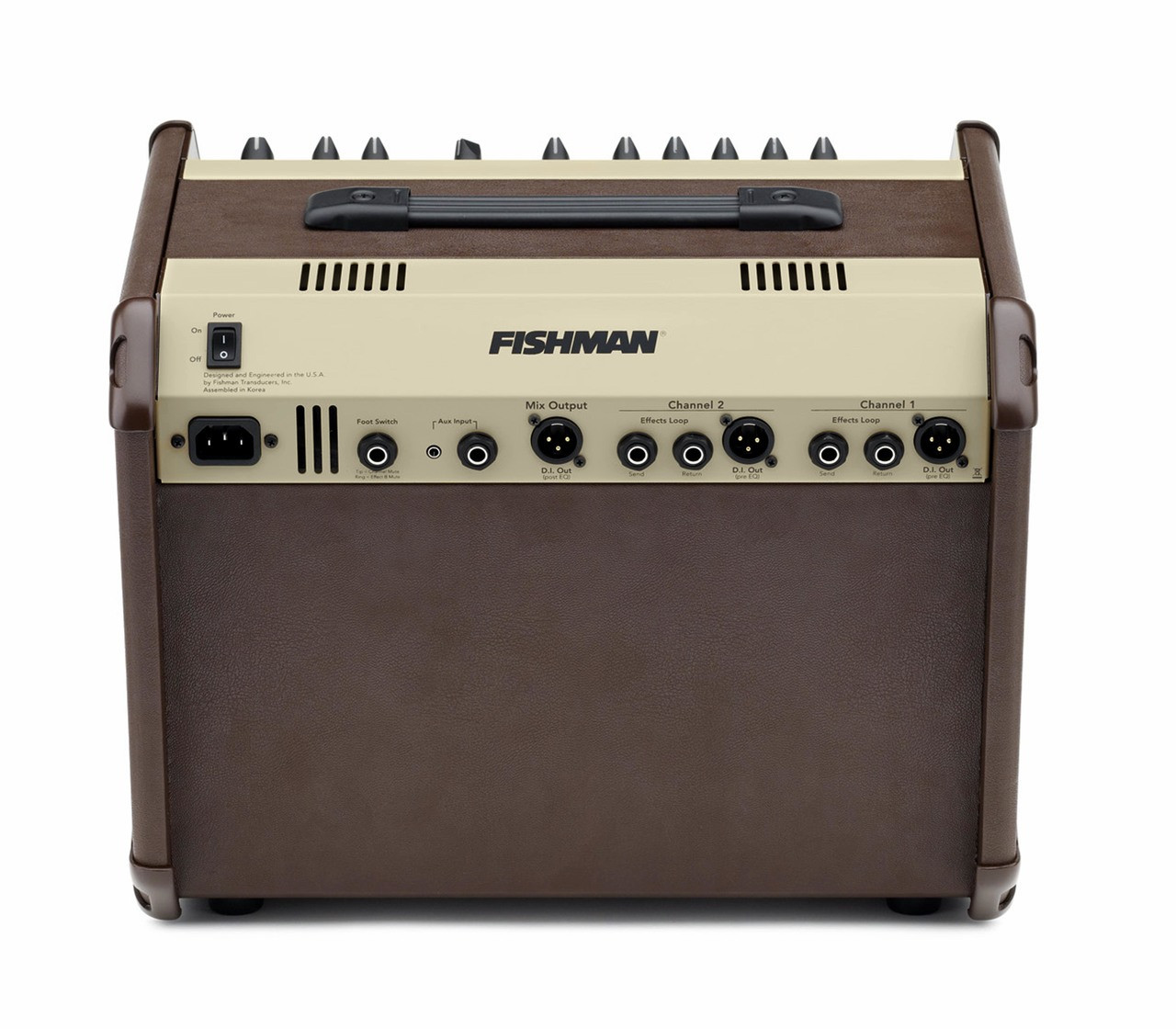 Fishman Loudbox Artist 120-watt Acoustic Guitar Amplifier - XLR DI Output - View 4