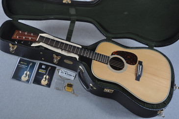 Used 2015 Martin D-28 Authentic 1937 VTS Adirondack Acoustic Guitar #1910127 - Case
