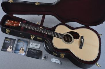 2016 Martin Custom Shop OM-28 VTS Adirondack Cocobolo Acoustic Guitar #2042861 - Case