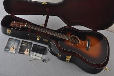 2017 Martin Custom Shop D-18 Adirondack Spruce 1935 Sunburst Acoustic Guitar #2074091 - Case