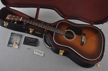 "2017 Martin Custom Shop D-28 Adirondack 1 3/4"" Nut Ambertone Guitar #2074088 - Case"