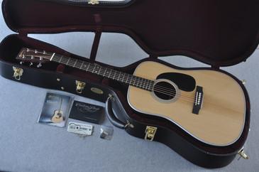 2017 Martin Custom Shop D-28 VTS Adirondack Acoustic Guitar #2083138 - Case