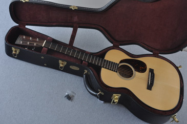 2009 Martin Custom Shop 00-18V Engelmann Acoustic Guitar #1364073 - Case