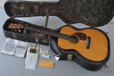 2003 Martin OM-18 Golden Era OM-18GE Adirondack Acoustic Guitar #950402 - Case