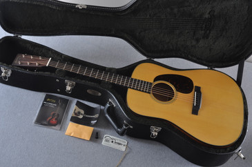 2016 Martin D-18 Standard Natural Acoustic Guitar #2043567 - Case