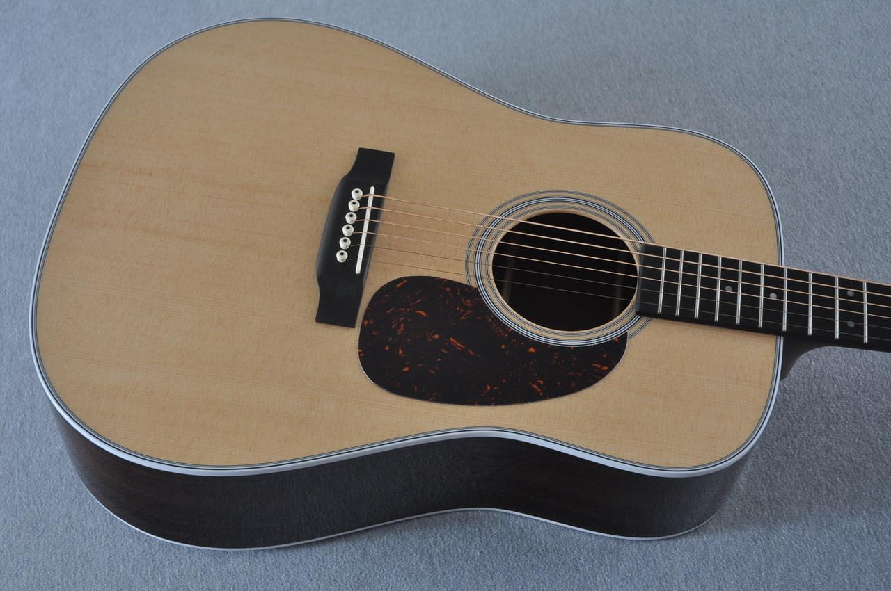 2016 Martin D-28 Standard Dreadnought Acoustic Guitar #2034646 - Top