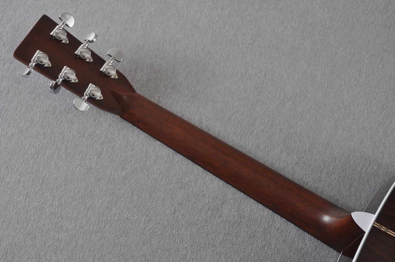 2016 Martin D-28 Standard Dreadnought Acoustic Guitar #2034646 - Back Neck