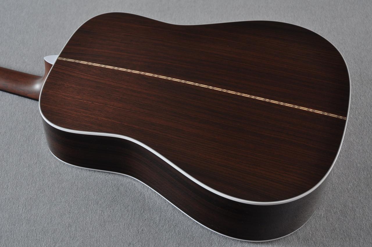 2016 Martin D-28 Standard Dreadnought Acoustic Guitar #2034646 - Back