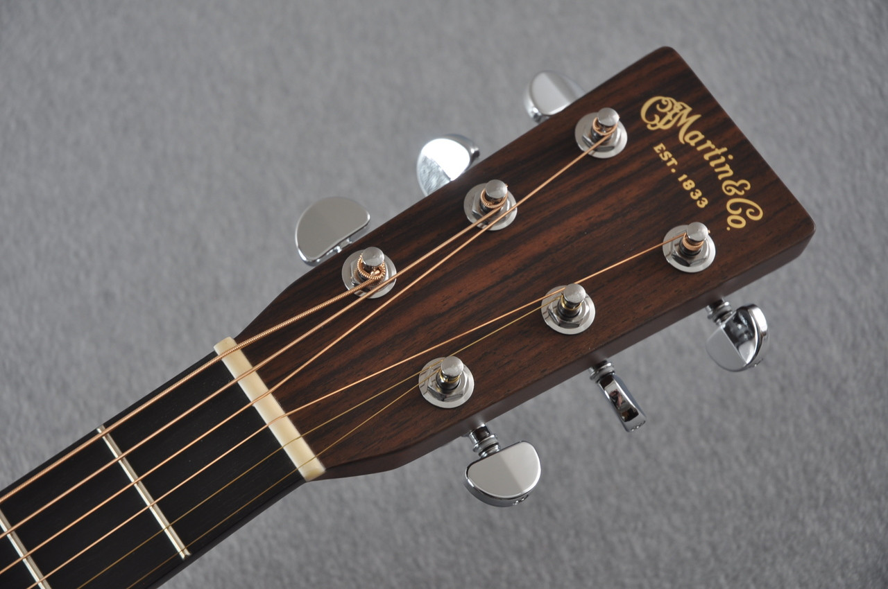 2016 Martin D-28 Standard Dreadnought Acoustic Guitar #2034646 - Headstock