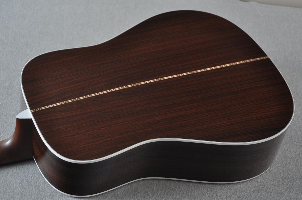 2016 Martin D-28 Standard Dreadnought Acoustic Guitar #2034646 - Back Angle