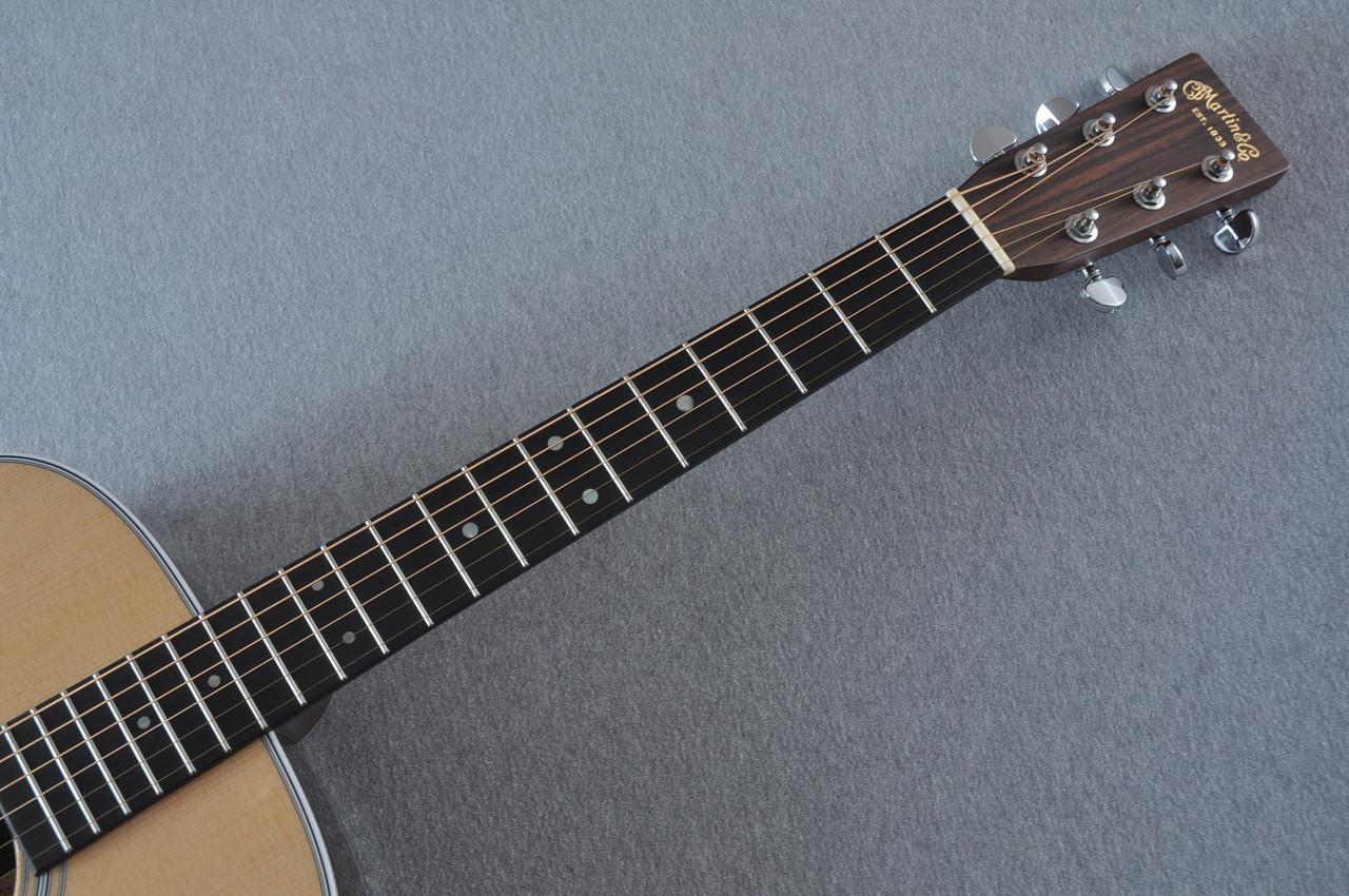 2016 Martin D-28 Standard Dreadnought Acoustic Guitar #2034646 - Neck