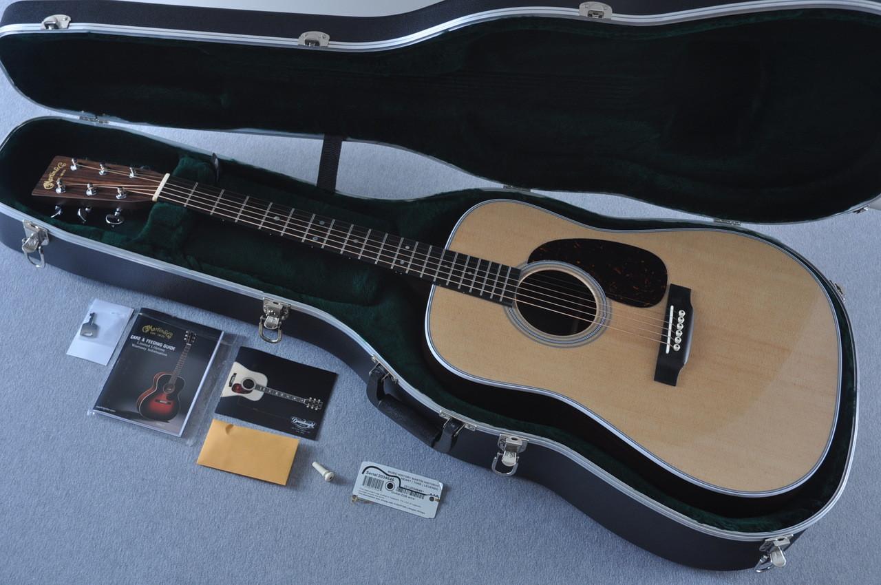 2016 Martin D-28 Standard Dreadnought Acoustic Guitar #2034646 - Case
